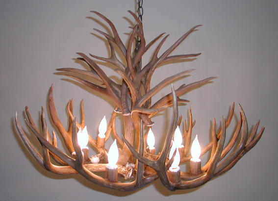 Antler Chandeliers – Real Deer Antler Chandelier